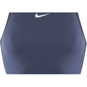 Nike Swim Water Polo Solids Camiseta sin mangas de cuello alto Mujer, midnight navy